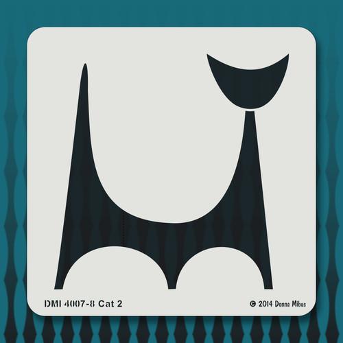 4007 Cat stencil 2