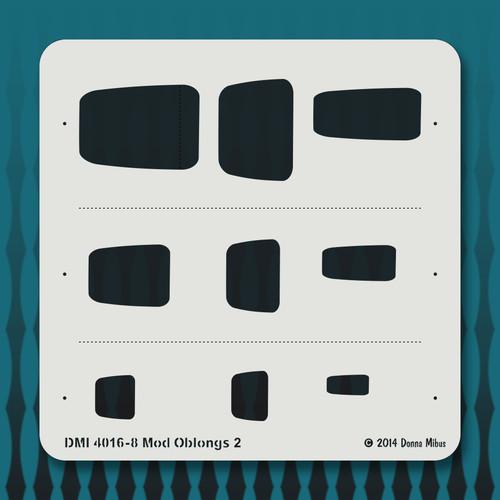 4016 Mod Oblongs 2 stencil