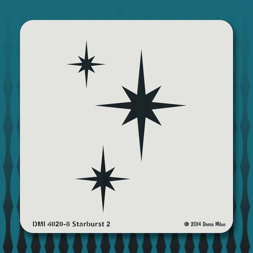 4020-8 starburst 2 stencil