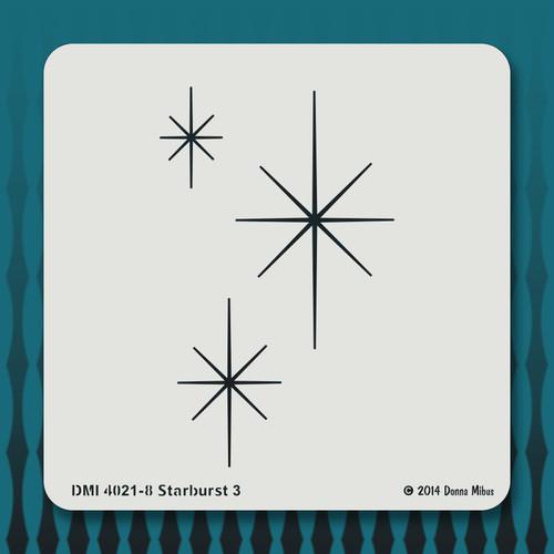 4021 Starburst 3 stencil