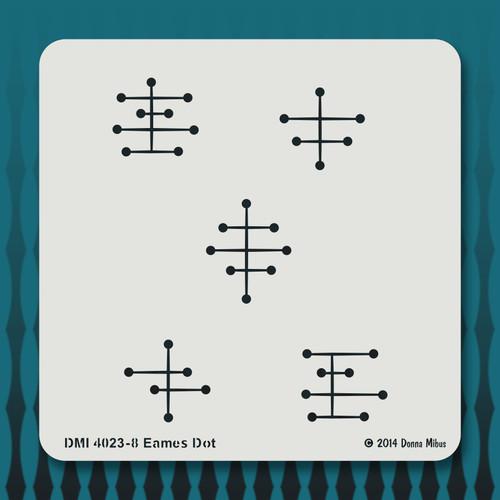 4023 Eames Dot stencil