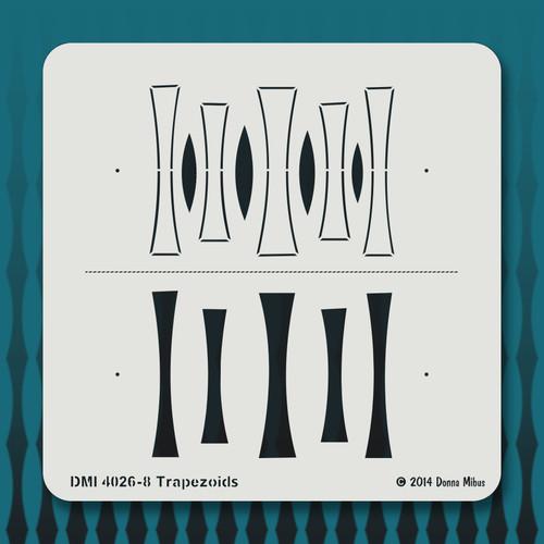 4026 Trapezoids stencil