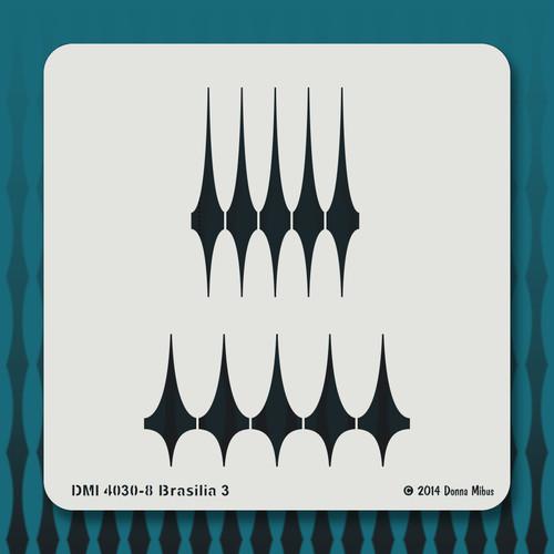 4030 Brasilia 3 stencil