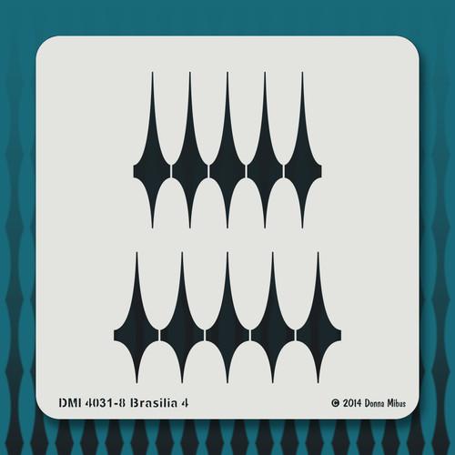 4031 Brasilia 4 stencil