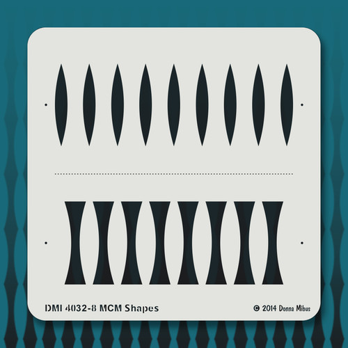 4032 MCM Shapes stencil
