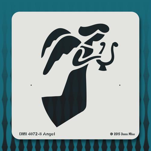 4072 Angel stencil