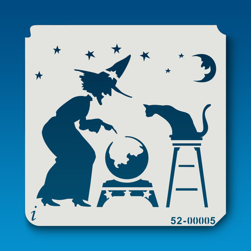 52-00005 Witch and Cauldron