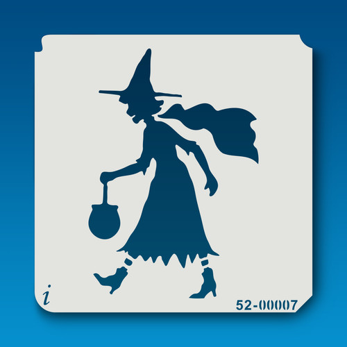 52-00007 Trick or Treat Witch