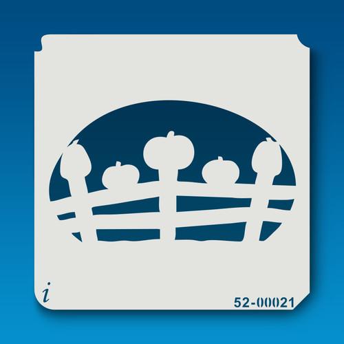 52-00021 Pumpkin Fence
