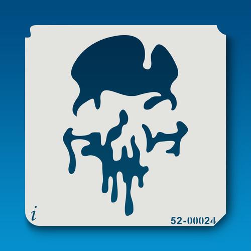 52-00024 Melting Skull