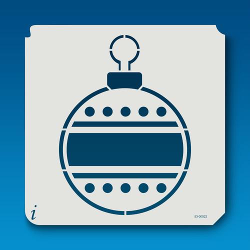 53-00022 Christmas Ball Ornament