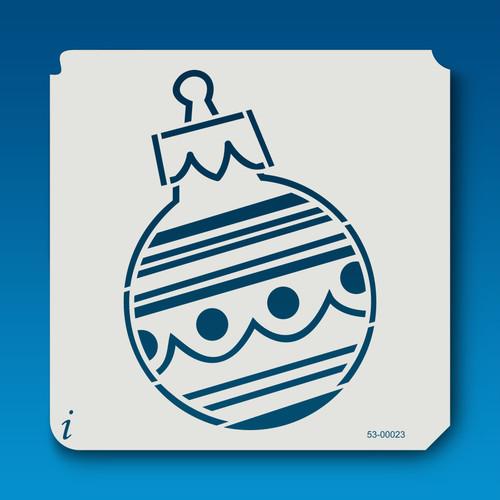 53-00023 Stripes Christmas Ball Ornament