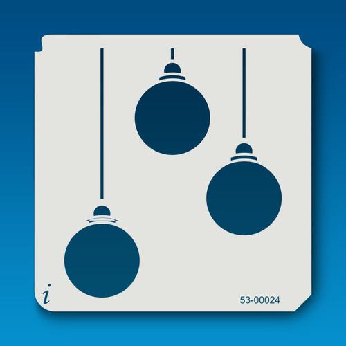 53-00024 Trio of Ball Ornaments