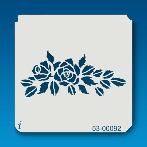 53-00092 Rose Branch Stencil