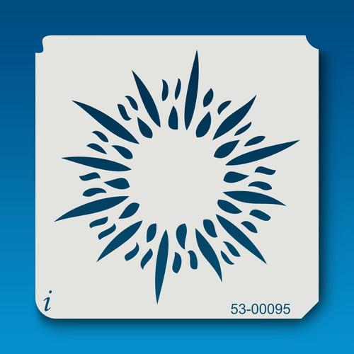53-00095 Sunblast Flower Stencil