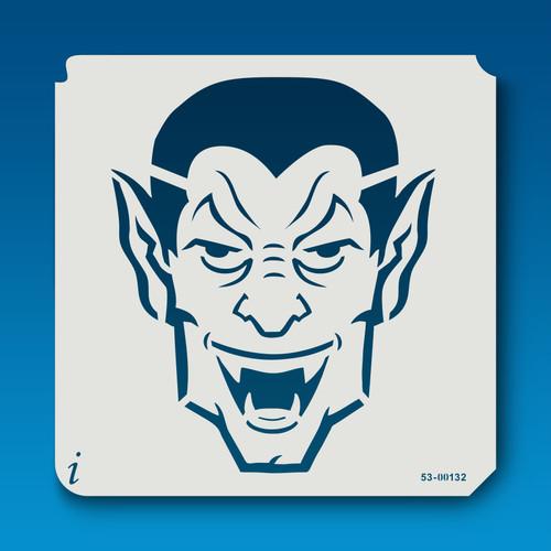 53-00132 Dracula Monster Face
