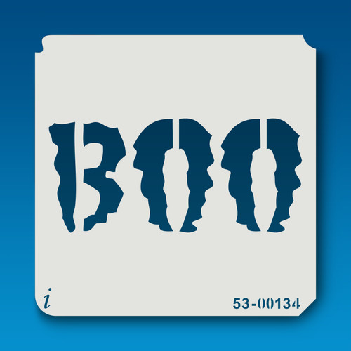 53-00134 BOO Halloween Stencil