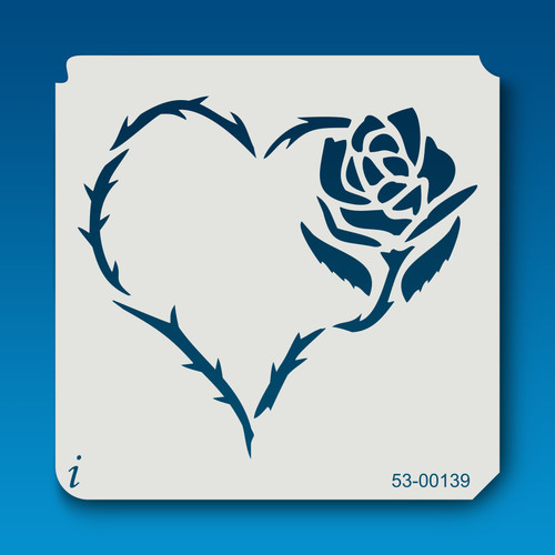 53-00139 heart of thorns stencil