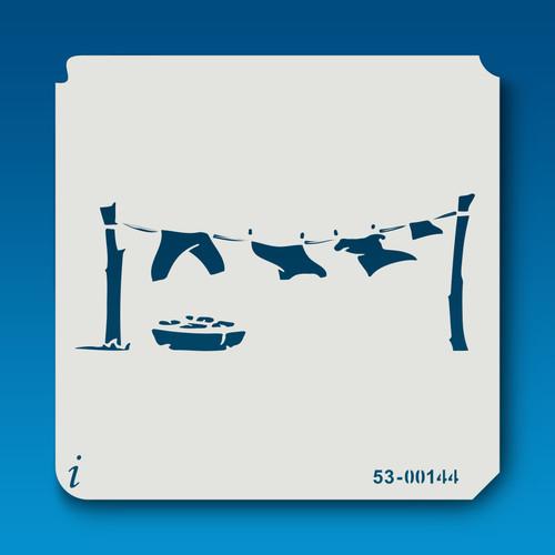 53-00144 Clothesline Laundry