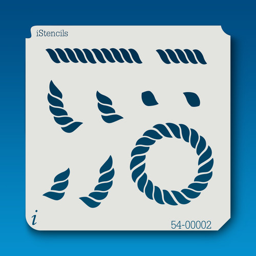 54-00002 rope parts stencil