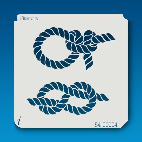 54-00004 rope knots -2 stencil