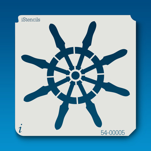 54-00005 ship wheel stencil
