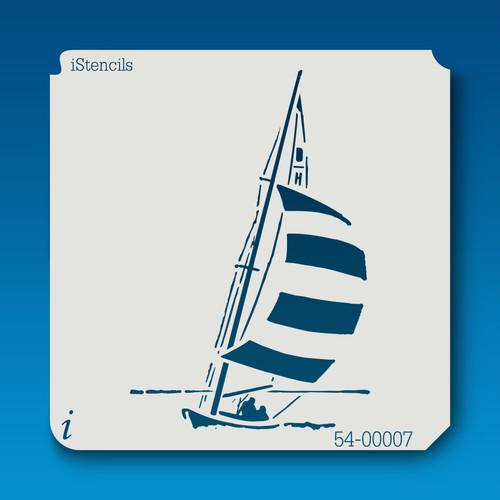 54-00007 sailboat stencil