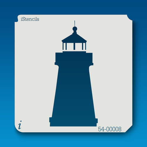 54-00008 lighthouse stencil