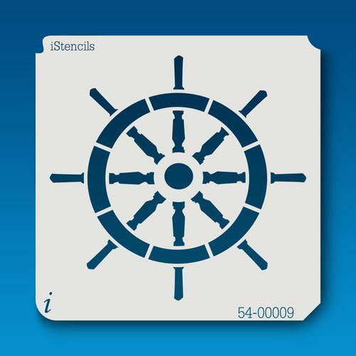 54-00009 shipwheel #2 stencil