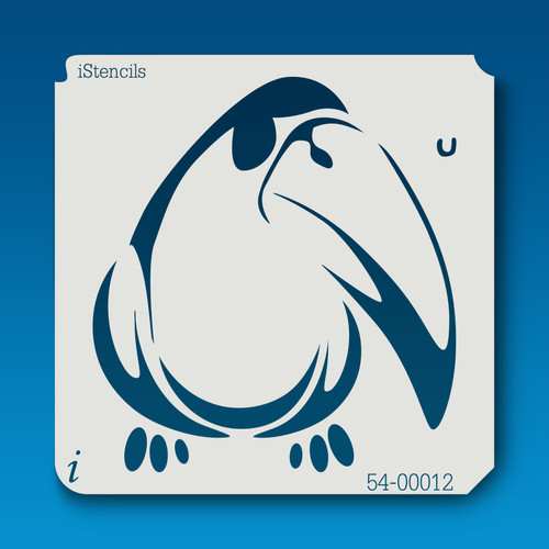 54-00012 toucan bird stencil