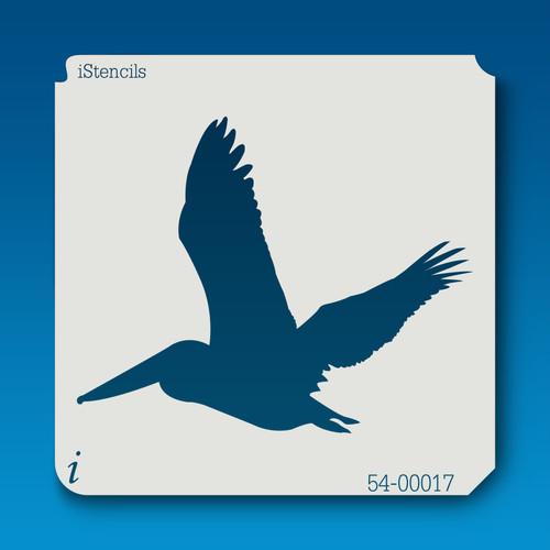 54-00017 pelican silhouette #2 stencil