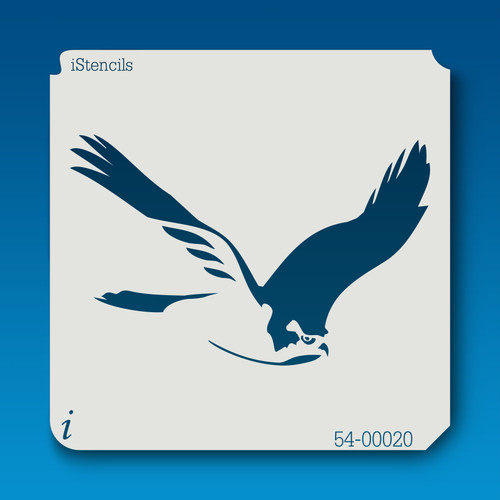 54-00020 flying hawk stencil