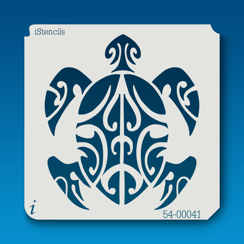 54-00041 Tribal Turtle Stencil