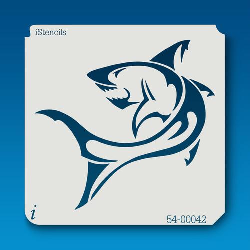 54-00042 shark stencil