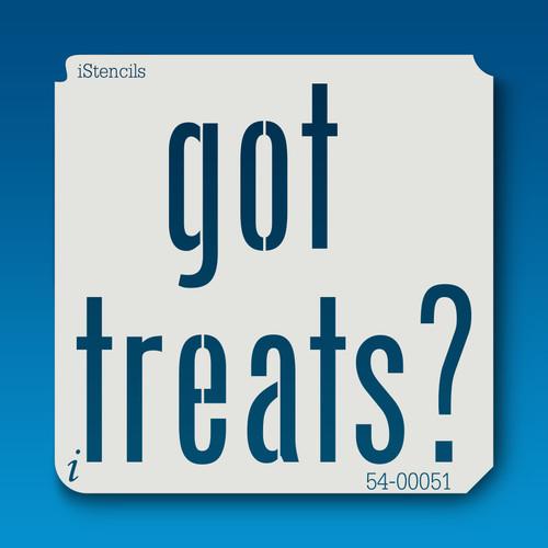 54-00051 got treats? stencil