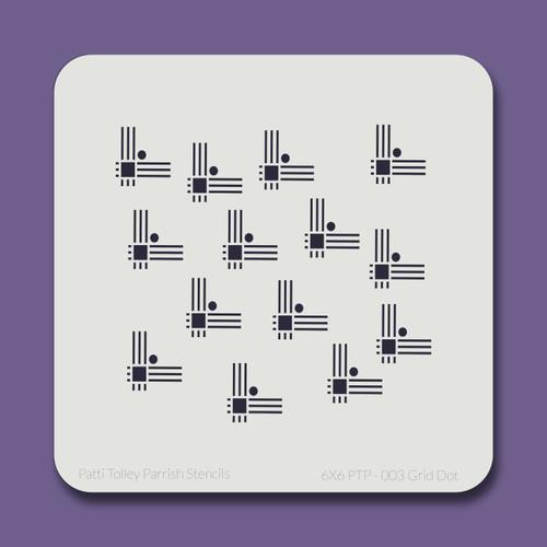 6X6 PTP-003 Grid Dot