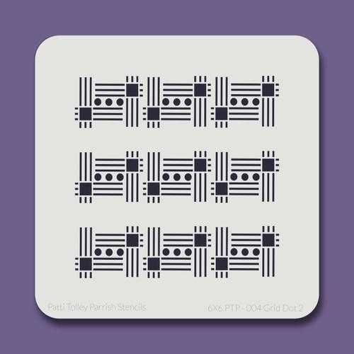 6X6 PTP-004 Grid Dot 2