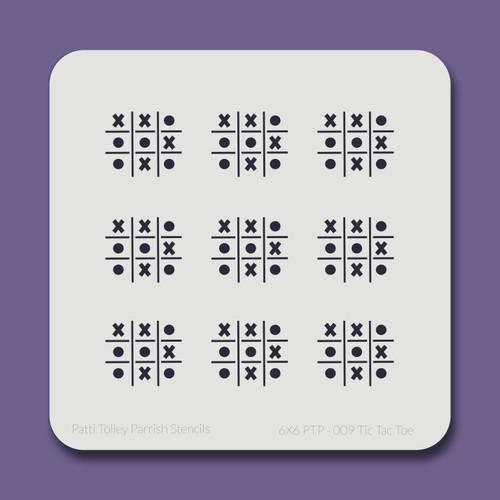 6X6 PTP-009 Tic Tac Toe