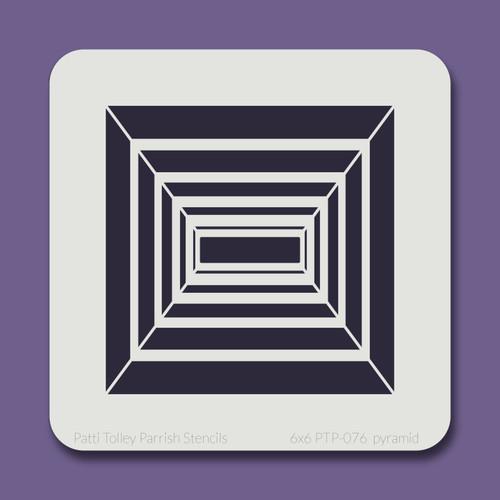 6x6 PTP-076 pyramid stencil