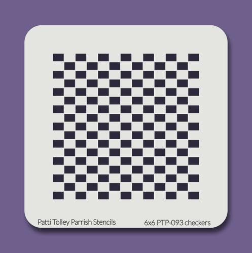 6x6 PTP-093 checkers