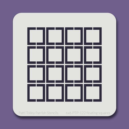 6x6 PTP-122 floating squares