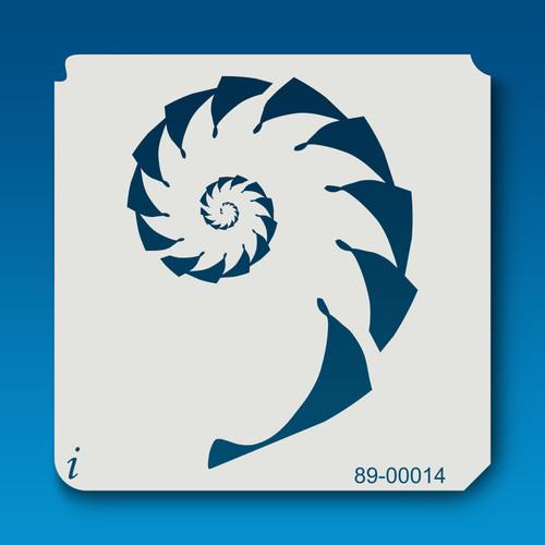89-00014 Sea Shell Stencil