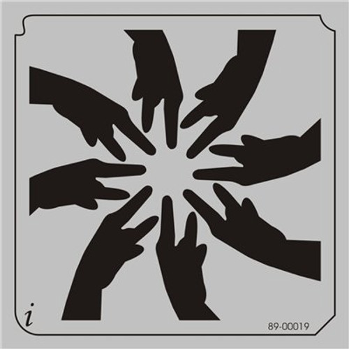 89-00019 Peace Hands