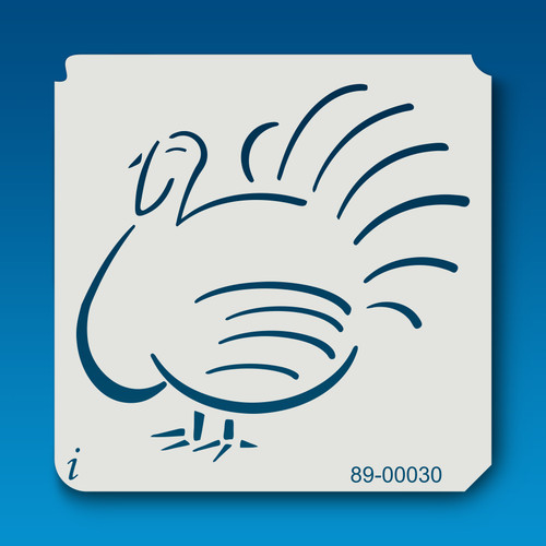 89-00030 Turkey Bird Stencil