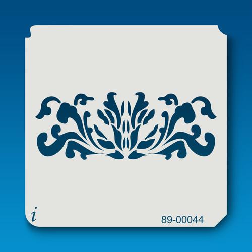 89-00044 Narcissus Flower Border Stencil