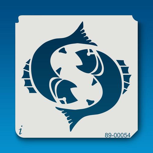 89-00054 Ying Yang Fish