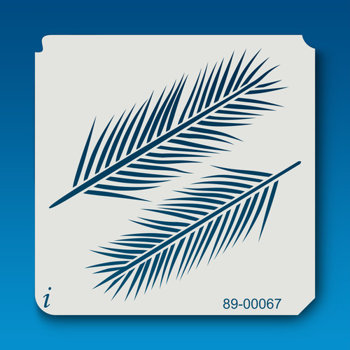 89-00067 Palm Leaves Stencil