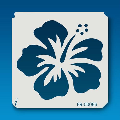 89-00086 Hawaiian Hibiscus Stencil