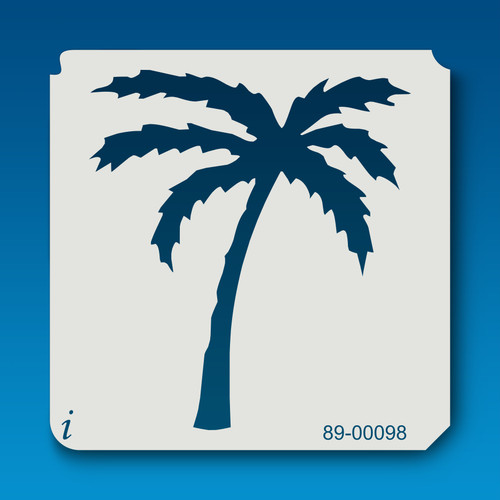 89-00098 Large Palm Tree Stencil