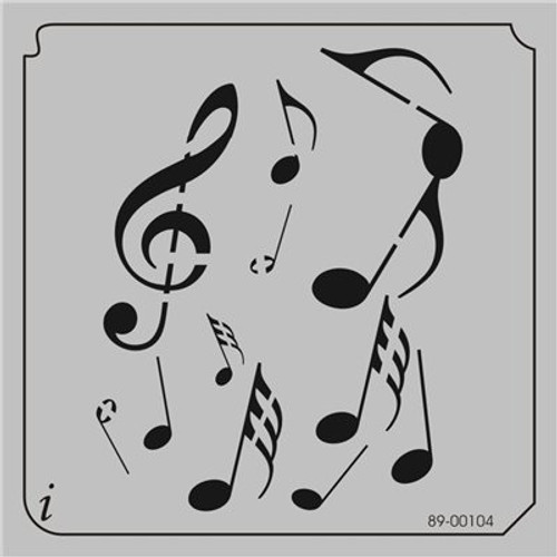 89-00104 Floating Musical Notes